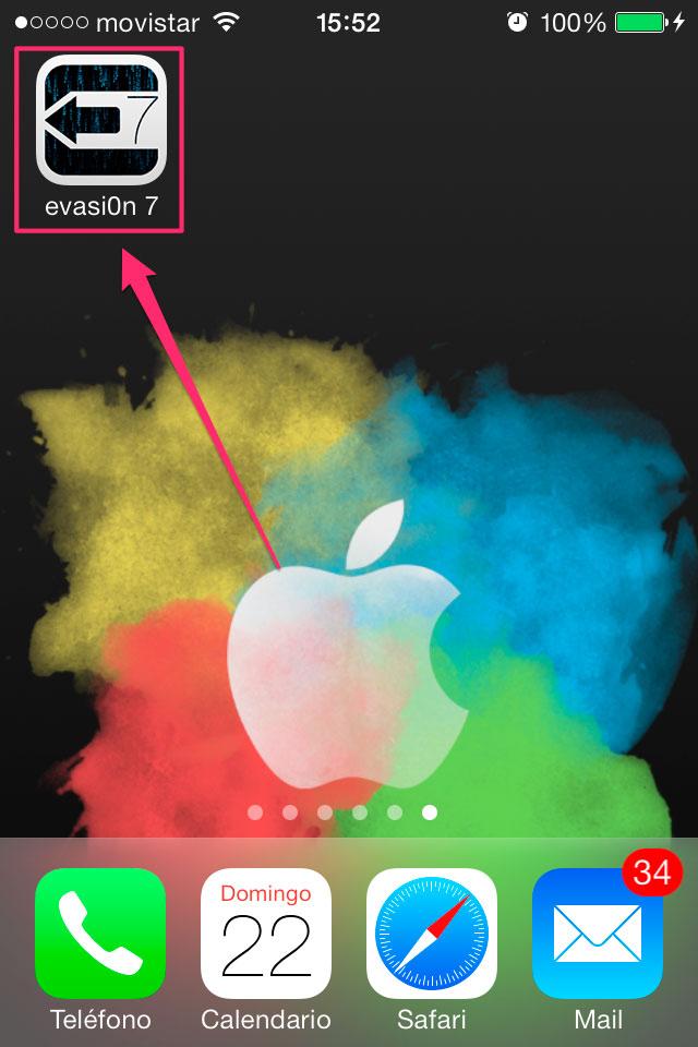 Cómo hacer JailBreak a iOS 7.0.6 con Evasi0n7 NO oficial