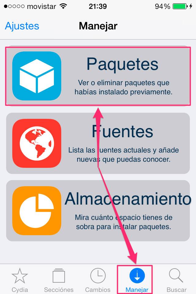 Como hacer que los Tweaks funcionen con el JailBreak iOS 7