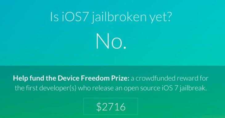 Si sacas el JailBreak iOS 7 te puedes llevar una pasta….