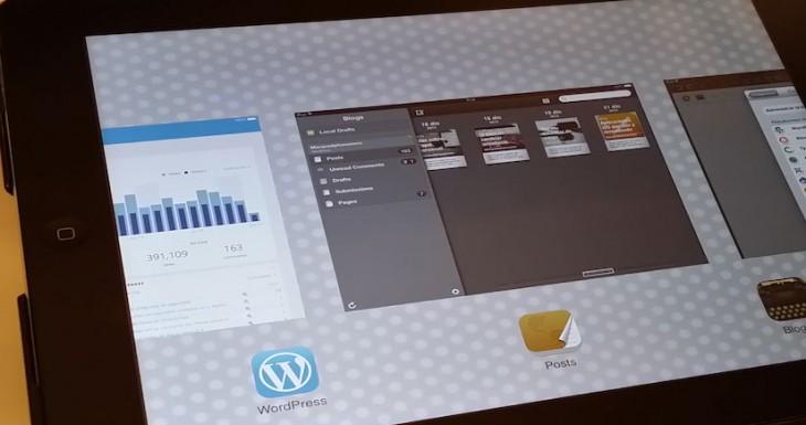 Aplicaciones para Editar un blog desde el iPad