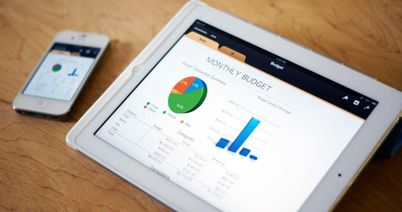 Numbers para iOS, como planificar ahorros sin ser expertos