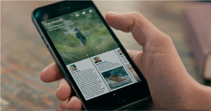 Paper, la aplicación de Facebook que cambiará tu forma de interactuar en la red social