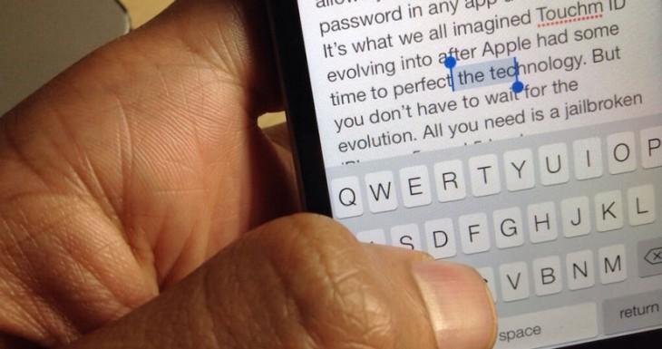 SwipeSelection Pro, selecciona texto más rápido que nunca [TWEAK]