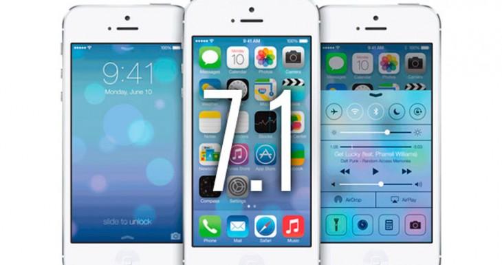 Apple lanza iOS 7.1 Beta 4 para desarrolladores (Novedades)