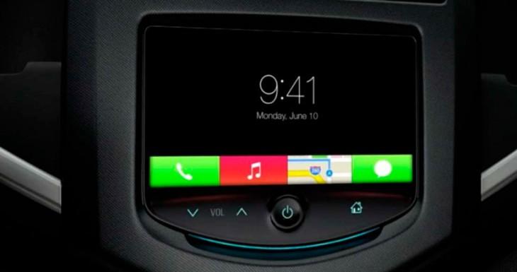 Así será iOS en el coche en acción [Vídeo]