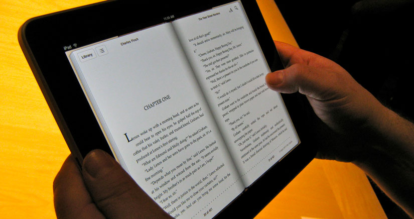 Mi opinión acerca de las ventajas del libro digital en iPad