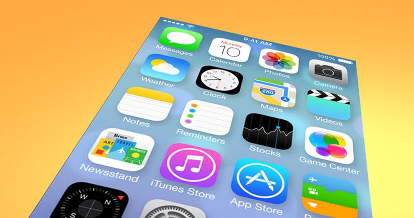 iOS 7 presenta nuevos desafíos para los desarrolladores de temas