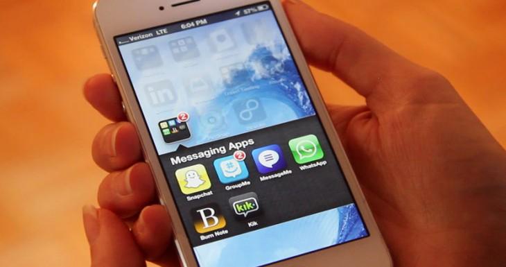 El uso de las aplicaciones de mensajería creció un 203% en 2013