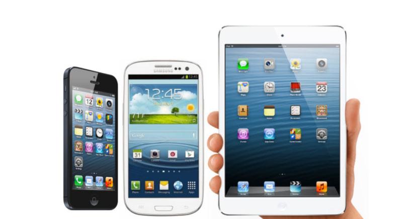 Así serán las pantallas para el iPhone 6, el iPad de 12,9 pulgadas y el iWatch