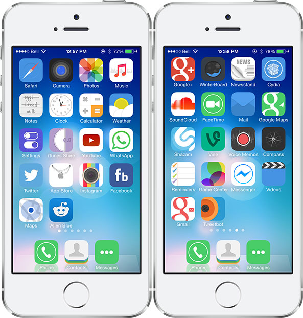Temas iPhone compatibles iOS 7