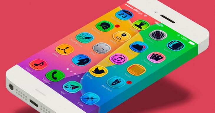 5 Temas para iPhone con JailBreak iOS 7