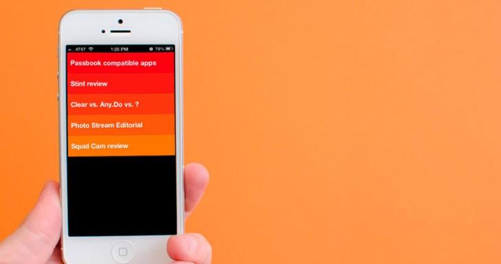 La famosa aplicación de tareas Clear gratis por unas horas, aprovecha