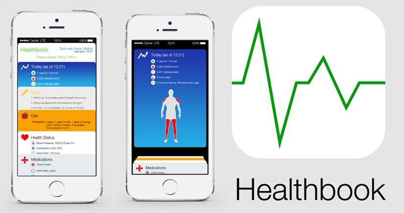 Algunos conceptos y más cosas sobre Healthbook  y el iWatch