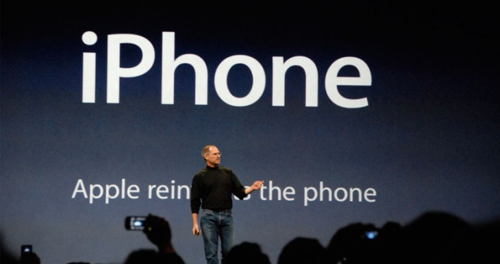 Esto es lo que pasa si alguien te llama desde el iPhone original el día de su presentación (Una locura)