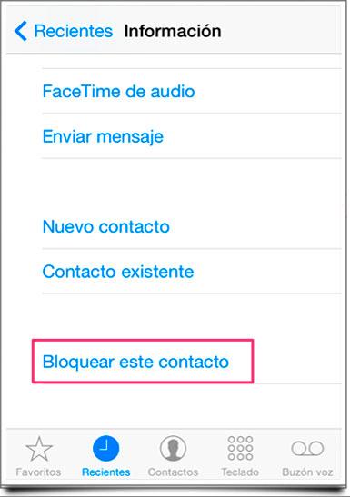 Bloquear-contacto-iPhone