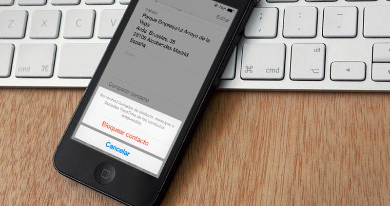 Bloquear a un contacto en el iPhone: ¿Cómo funciona? ¿Se entera? Todo lo que quieres saber…