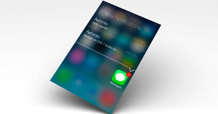 Badger 7: Las notificaciones en iOS 7 como siempre debían ser