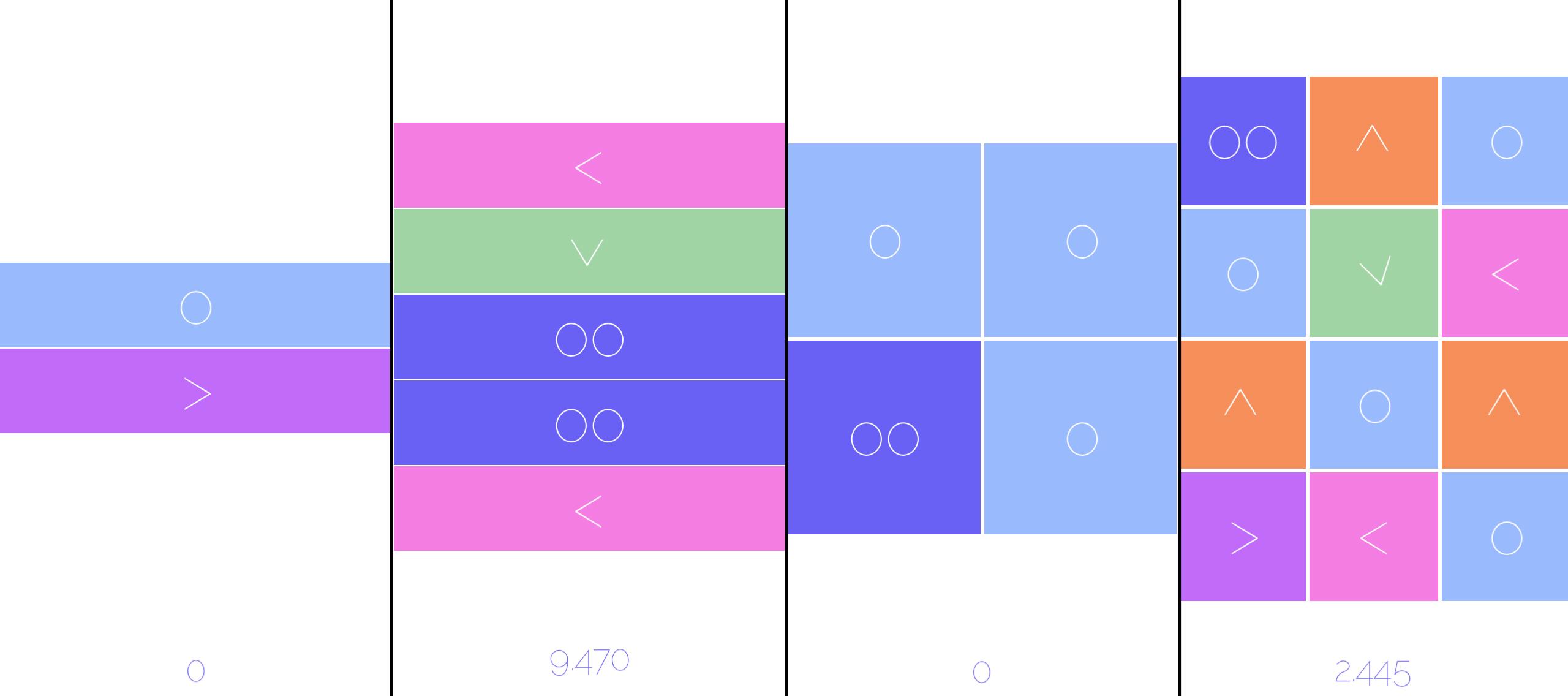 Teggle modo standar y square