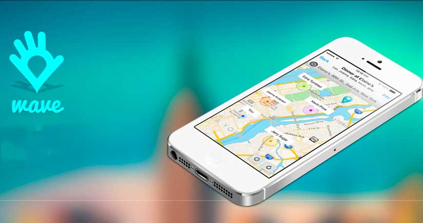 Wave, la aplicación que deja mal al mismísimo Find My Friends de Apple…
