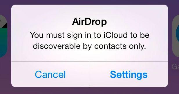Como usar AirDrop