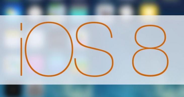 iOS 8: Primeras imágenes con nuevos iconos y funciones