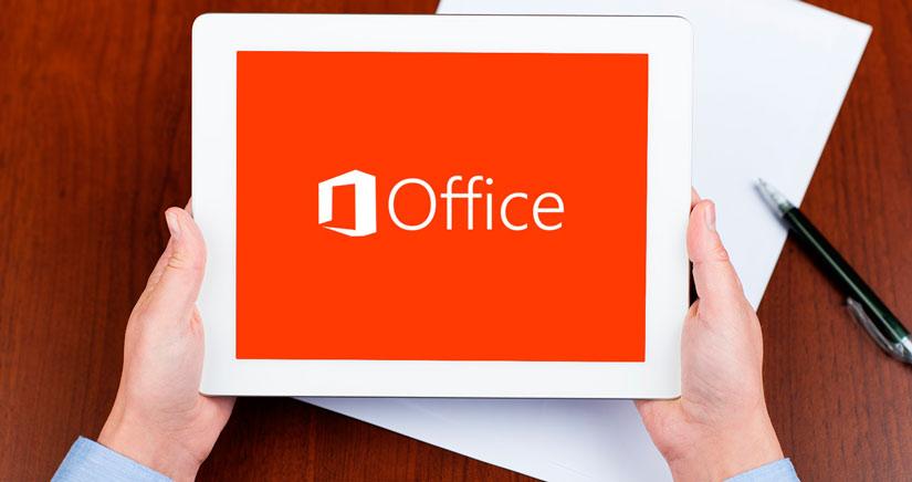 Office para iPad se presentará la semana que viene