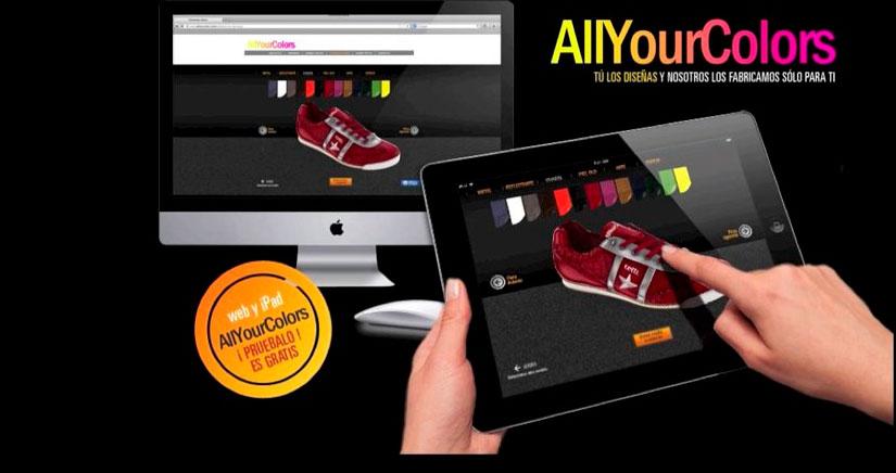 Consigue tus Zapatillas Deportivas personalizadas con AllYourColors y iPhoneA2 [Sorteo]