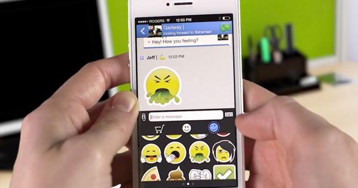 BBM se actualiza agregando stickers y mucho más