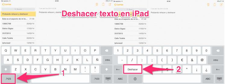 Deshacer-rehacer-iPad