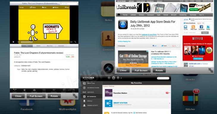 Ryan Petrich está trabajando en la multitarea real para iOS 7 [Vídeo]