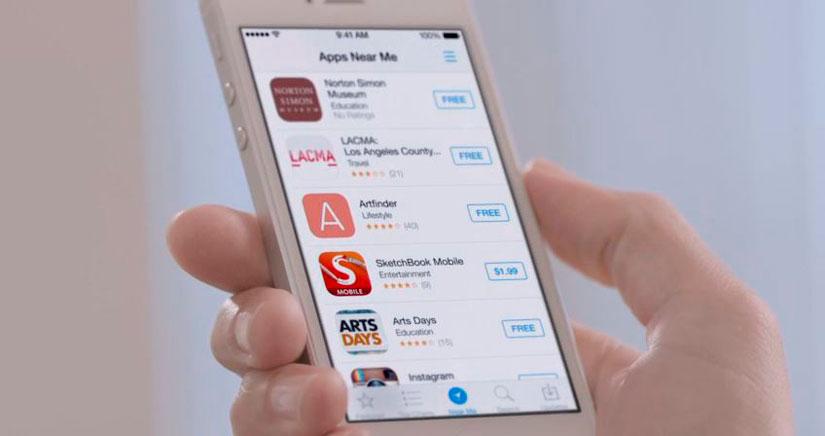 Cómo ocultar la pestaña Cerca de la App Store en tu iPhone o iPad [Tweak]