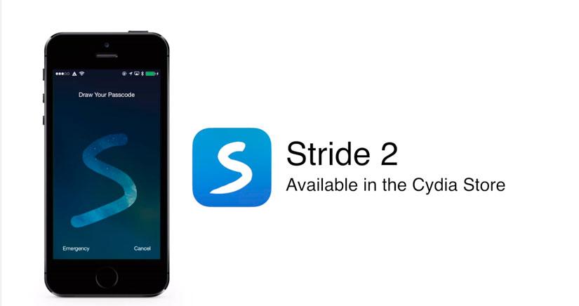 Desbloquea tu iPhone o iPad con estilo con Stride 2 [Cydia]