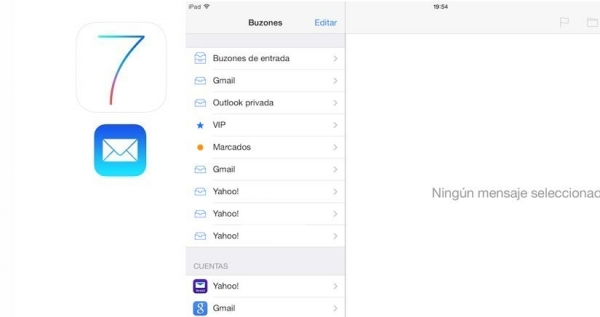 iOS-ajustes correo inf cuenta