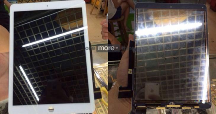 Presuntas imágenes del panel frontal del iPad Air 2 filtradas