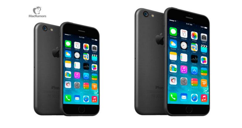 El iPhone 6 de 4,7 pulgadas se empezará a producir en Julio, el de 5,5 en Septiembre