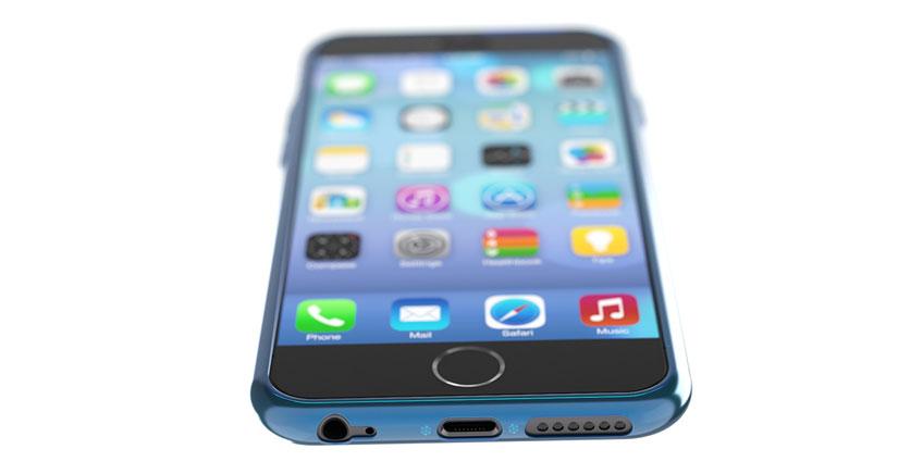 Precioso concepto de iPhone 6, me lo quedaría ya mismo….