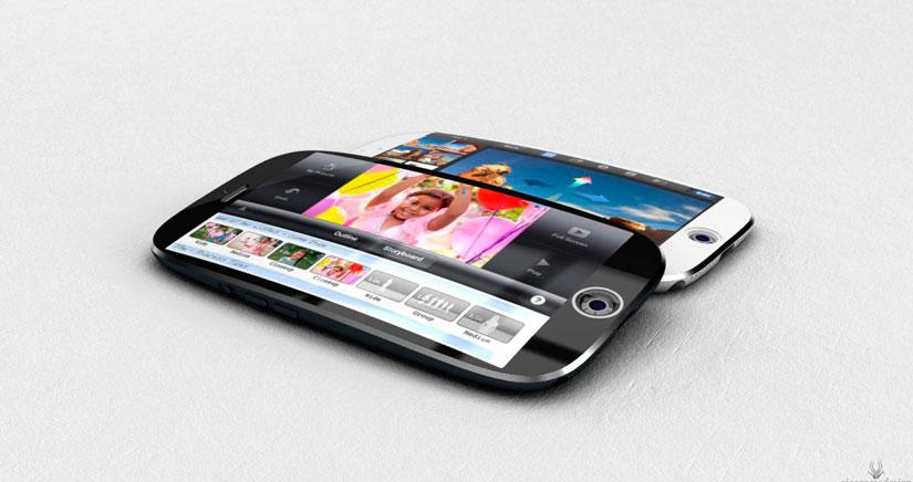El iPhone 6 podría tener pantalla curva, si ya lo decíamos nosotros….