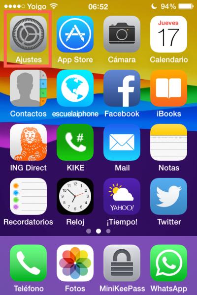 Ubicaciones frecuentes iPhone