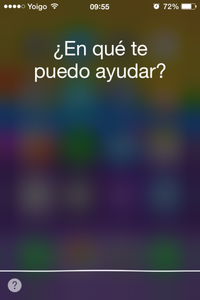 Abrir Siri