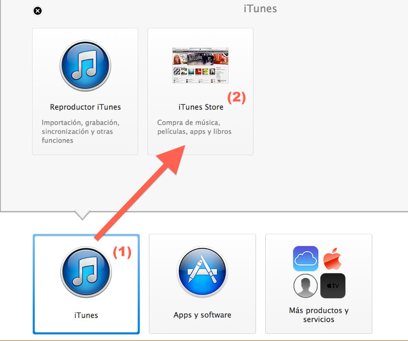 itunes servicio oficial apple