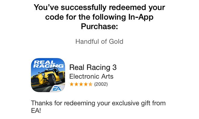 Real racing 3 promo