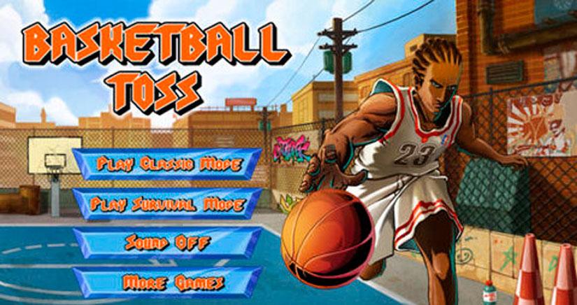 Basketball Toss: Diviértete jugando al baloncesto desde tu iPad