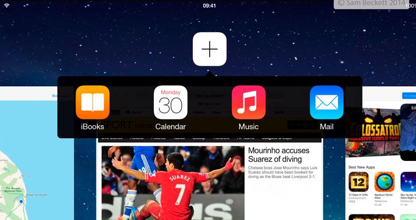 iOS 8 podría incluir pantalla dividida para ejecutar 2 aplicaciones a la vez en iPad