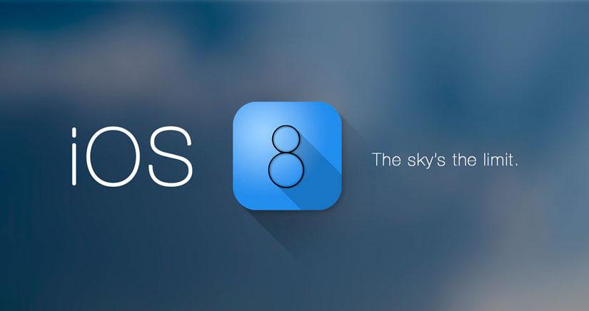 Un concepto de iOS 8 con un control center vitaminado y más…