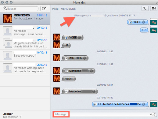 imessages mac