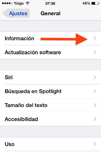 informacion iphone