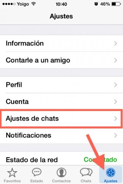 4ajustes chat