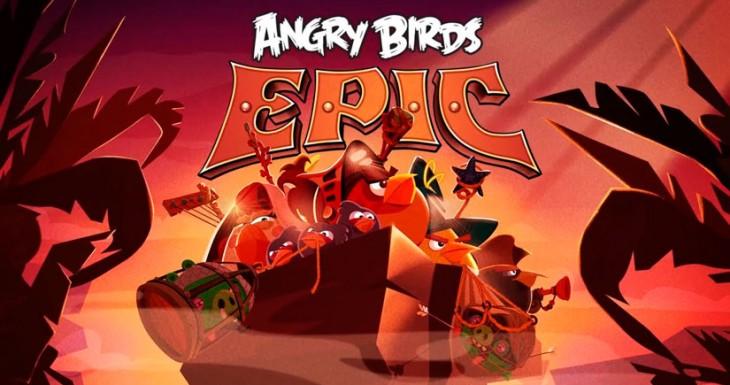 Angry Birds Epic llegará a la App store el 12 de Junio [Vídeo]