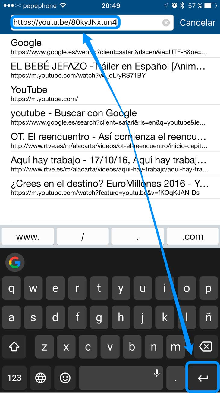 Aplicacion para descargar videos de youtube en ipad