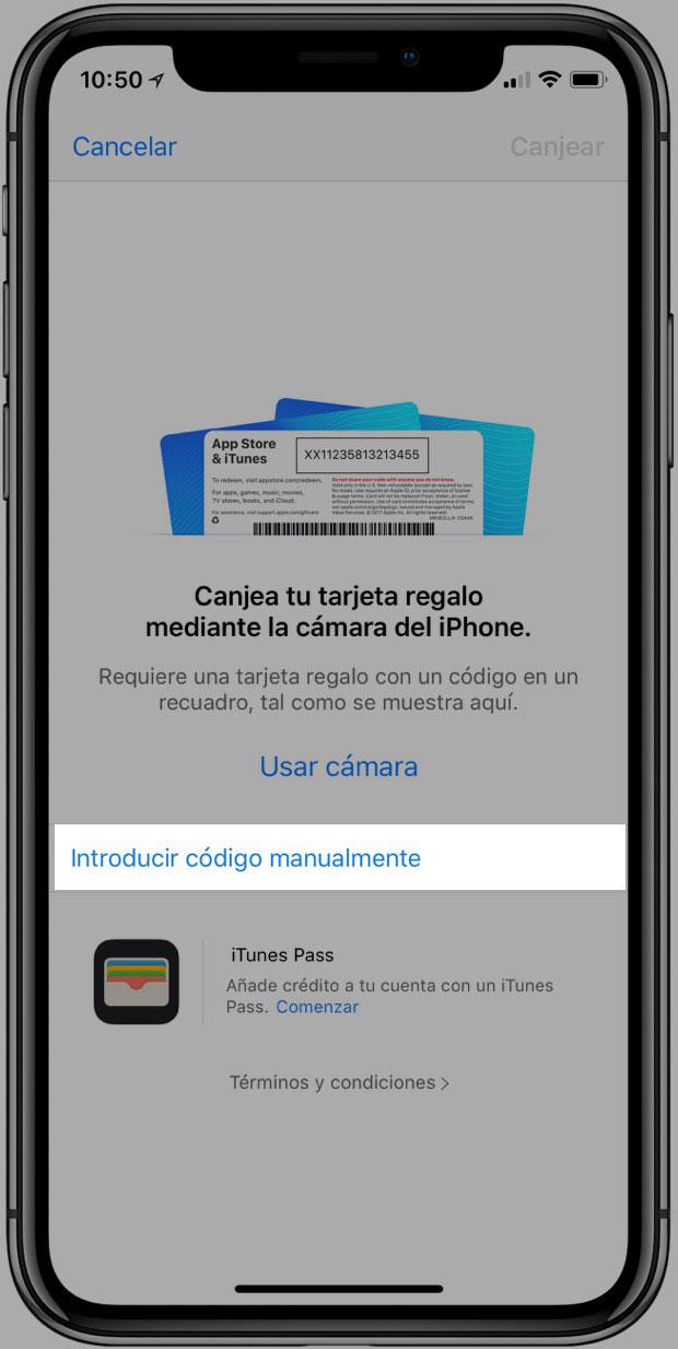 Codigo promo app 18